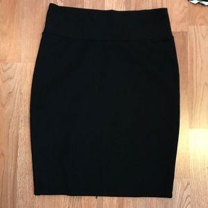Black Cassie skirt